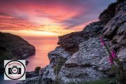 Paul-Gray-Tintagel-Sunset